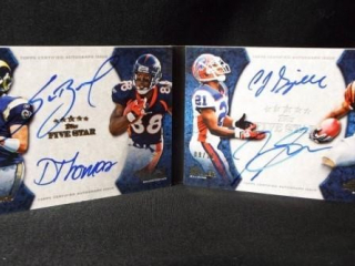 Football Five StarBook Card