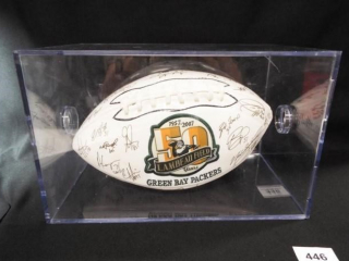 Football Green Bay Packers Signed Ball