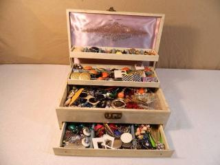 Jewelry Box Full of Vintage Jewelry