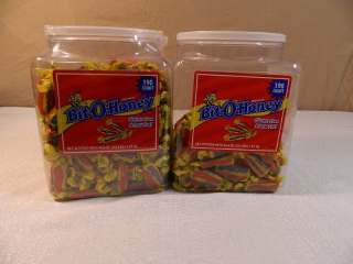 2 Containers of Bit-O-Honey Candies