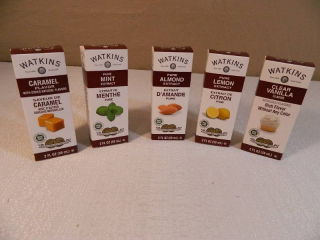 5 New Watkins Extracts / Flavorings