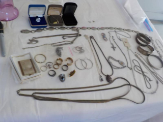 Jewelry and Belts...