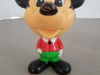 Vintage Mickey Mouse Talking Pull String Toy