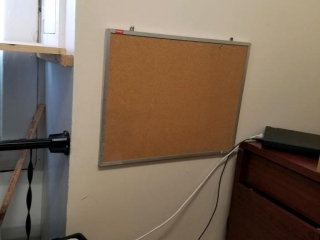 3 corkboards