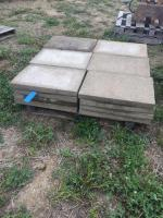 Pallet of 16 x 24 pavers/stepping stones