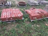 2 pallets of bricks- some pavers