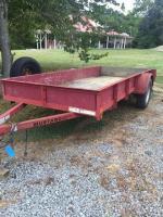 Mustang trailer- 2100 lb. capacity