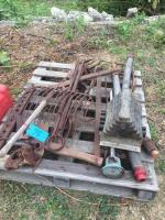 Lot of old implements