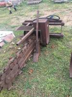 Trenching attachment for Bobcat