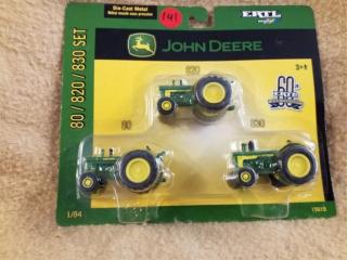 John Deere 80/820/830 Set of Tractors