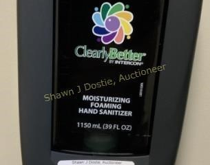 Motion activated and sanitizer dispenser location