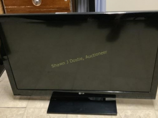 LG 42 inch flat panel TV location building two
