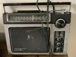 General electric transistor radio location