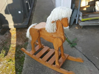 handcrafted hobby horse