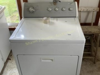 Whirlpool electric dryer location building one