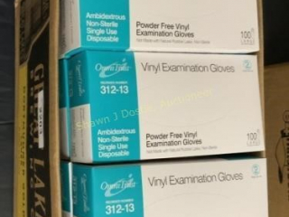 Lot of 1200 large or vinyl exam gloves location