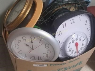 Tick Tock a box of clocks building 2 room number