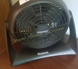 Holmes desk fan blizzard room number 4 building