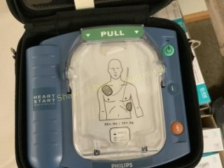 Phillips heart start HS1 defibrillator and