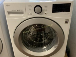 LG front load in the washer with stainless steel