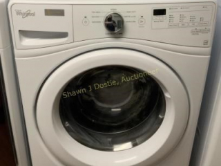 Whirlpool front loading washer with stainless