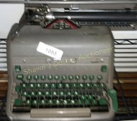 Antique Royal typewriter location building one