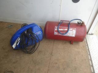 Portable Air Tank & Air Compressor