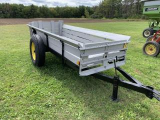 4'x12' wood hauler spreader