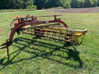 New Holland 258 roll bar rake