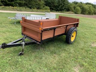4'x10' wood hauler spreader