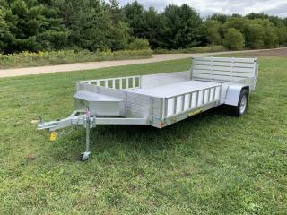 2017 Aluma 8114 SR Alumimum trailer