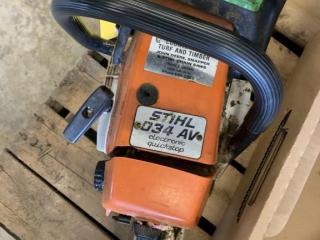 Stihl 034 AV Chain Saw