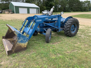 Ford 3500 Industrial tractor w/loader