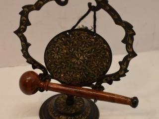 Detailed Metal Gong