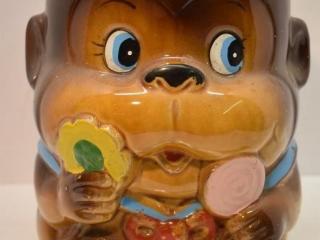 Monkey Cookie Jar - Missing Lid