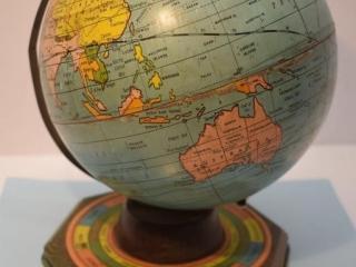 Tin World Globe