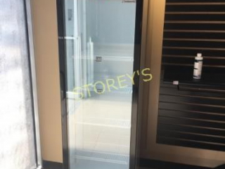 Coolasonic Single Door Glass Cooler - like new