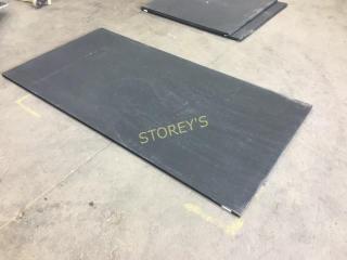 Black Floor / Gym Mat ~78.5 x 39.5
