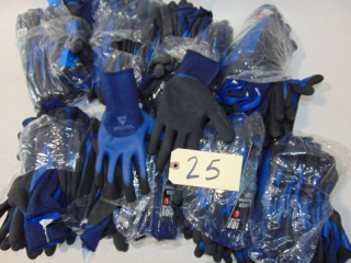 75 Pair  Large Double Dipped Latex Glove