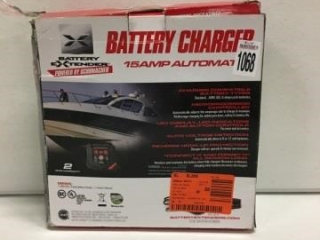 BATTERY CHARGER 15 AMP BATTERY EXTENDER
