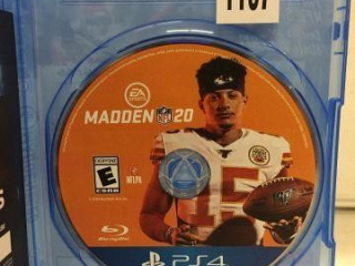 PS4 MADDEN NFL 20 (IN SHOWCASE)