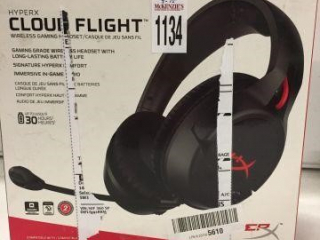 CLOUD FLIGHT WIRELESS GAMING HEADSET (IN SHOWCASE)
