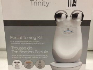 NUFACE TRINITY FACIAL TONING KIT (IN SHOWCASE)