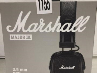 MARSHALL MAJOR III HEADPHONES 3.5 MM COIL