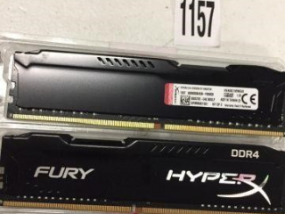 HYPERX 2 PIECE MEMORY KIT DDR4 (IN SHOWCASE)