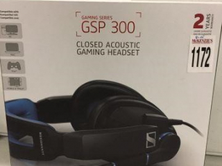 SENNHEISER GAMING HEADSET (IN SHOWCASE)