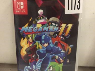 NINTENDO SWITCH MEGAMAN (IN SHOWCASE)