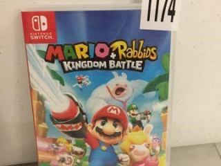 NINTENDO SWITCH MARIO + RABBIDS KINGDOM BATTLE