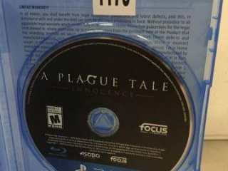 PS4 A PLAGUE TALE (IN SHOWCASE)