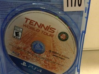 PS4 TENNIS WORLD TOUR (IN SHOWCASE)